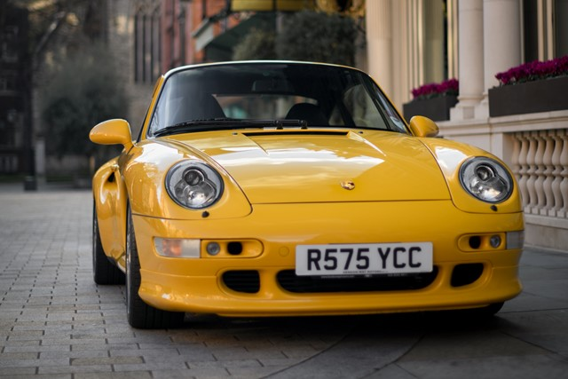 1998 PORSCHE 993 TURBO S COUPE