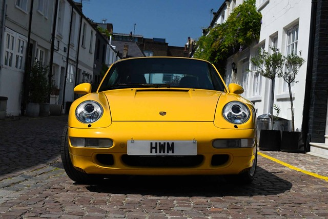 1995 PORSCHE  993 TURBO COUPE