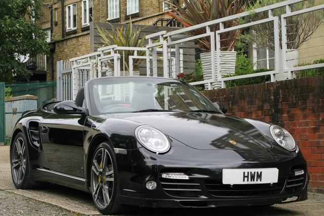 2011 Porsche 997 Turbo Cabriolet