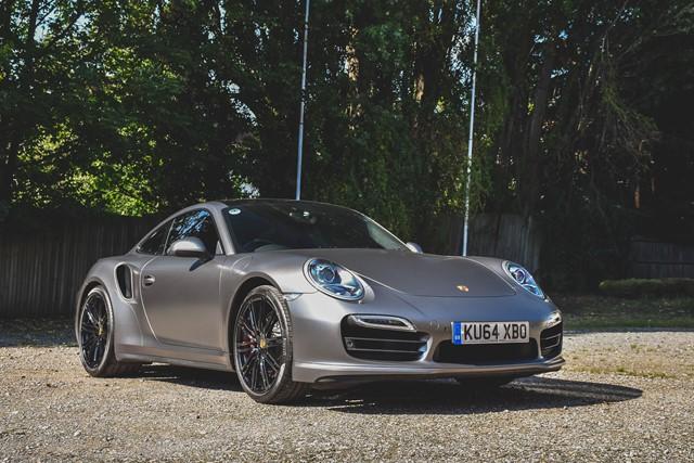 2014 Porsche 911 991.1 Turbo Coupe PDK